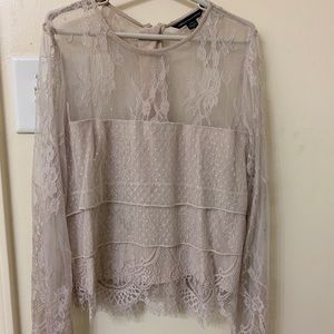 AE lace top